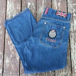 Coogi Dark Wash Jeans Men's 40 x 34